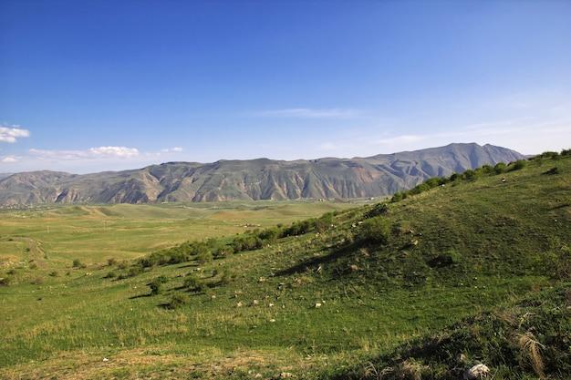 Charakter gór kaukazu w armenii