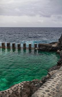 Charco azul, la palma, wyspy kanaryjskie, hiszpania