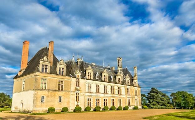 Chateau de beauregard, jeden z zamków w dolinie loary we francji, departament loir-et-cher