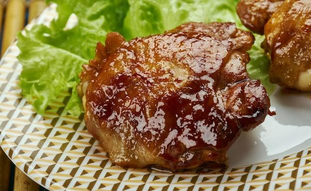 Cheerwine barbeque bbq chicken, texas south chicken