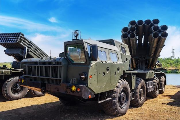Chernorechye orenburg rosja 300 mm system rakiet wielokrotnego startu smerch