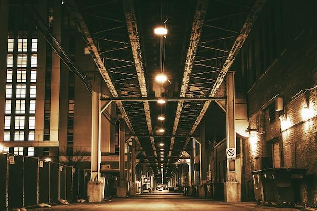 Chicago bridge pociągu miejskiego