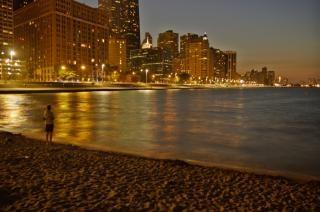 Chicago w nocy