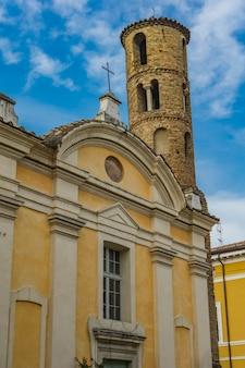 Chiesa dei santi giovanni e paolo w rawennie we włoszech