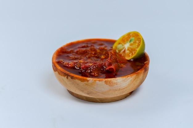 Chili z czerwonego sosu