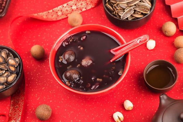 Chińska kuchnia północna, owsianka laba, ósemka skarbów