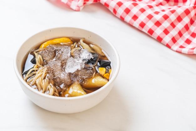 Chiński deserowy talerz (bok kia) - chiński deser hainan