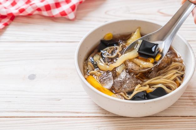 Chiński deserowy talerz (bok kia) - hainan chiński deser