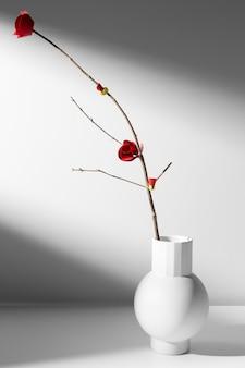 Chiński nowy rok 2021 minimalistyczny kwiat domu