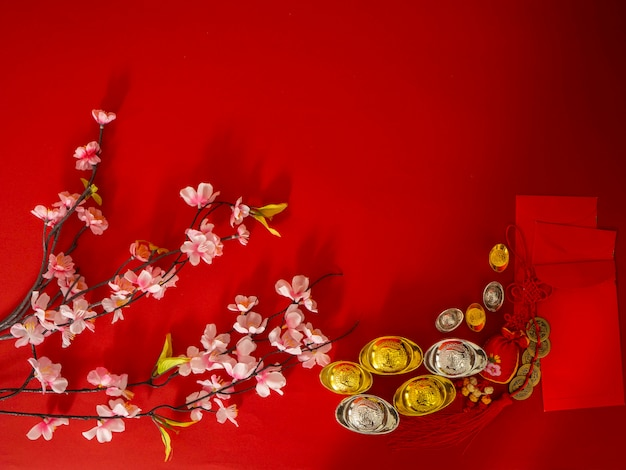 Chiński nowy rok dekoracje.