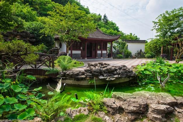Chiński ogród w zurychu