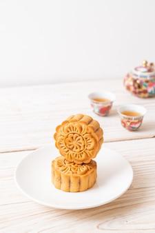 Chińskie ciastka księżycowe na święto środka jesieni