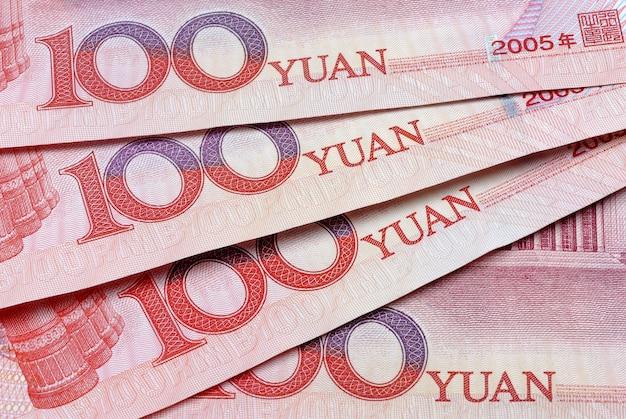 Chińskie pieniądze yuan