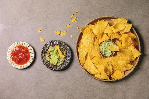 Chipsy tortilla nachos
