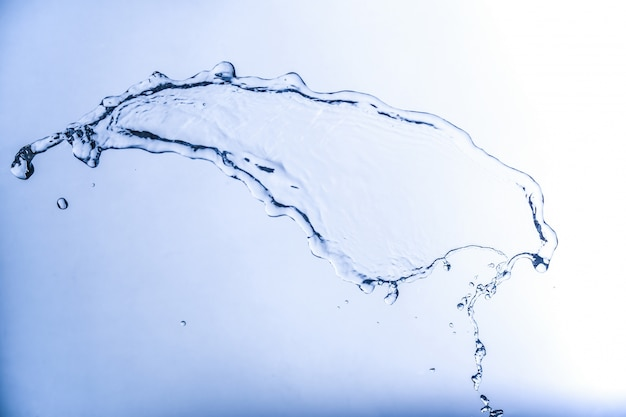 Chlapnięcie wodą