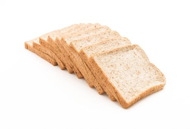 Chleb pszenny na białym