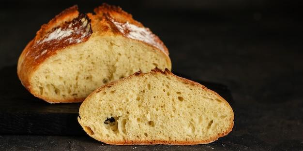 Chleb - świeżo upieczone smaczne ciasta