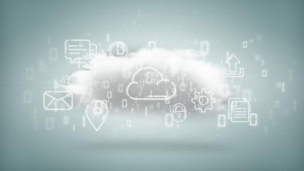 Chmura ikon multimedialnych