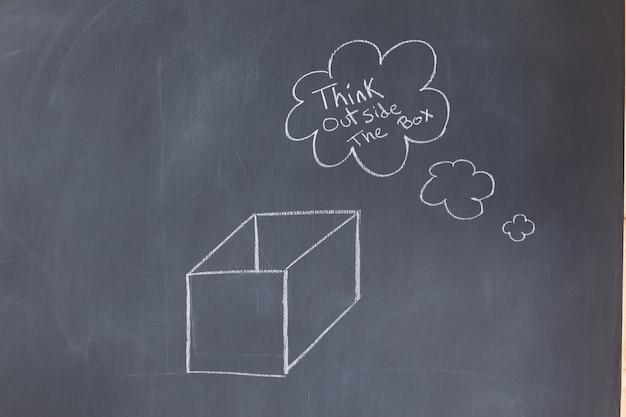 Chmura pęcherzyków zawierających wiadomość i pole rysowane na tablica