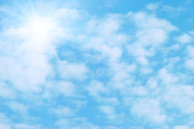 Chmury i niebo mogą służyć jako tło