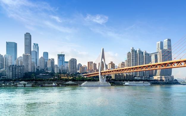 Chongqing gród i wieżowce