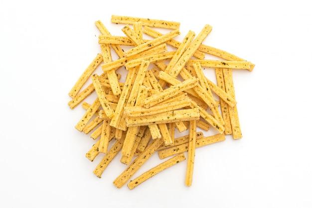 Chrupiąca przekąska kukurydziana z wodorostami