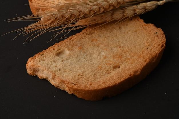 Chrupiąca sucharka lub tost dla zdrowego życia