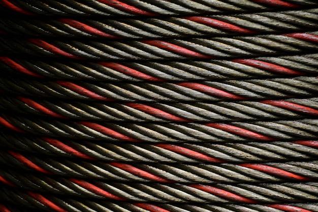 Chusta lub linka stalowa - wzór