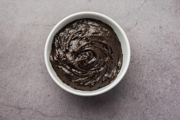Chyawanprash lub chyavanprash to indyjski ajurwedyjski suplement wzmacniający odporność, składający się ze skoncentrowanej mieszanki minerałów i bogatych w składniki odżywcze ziół, podawanych w misce, izolowany