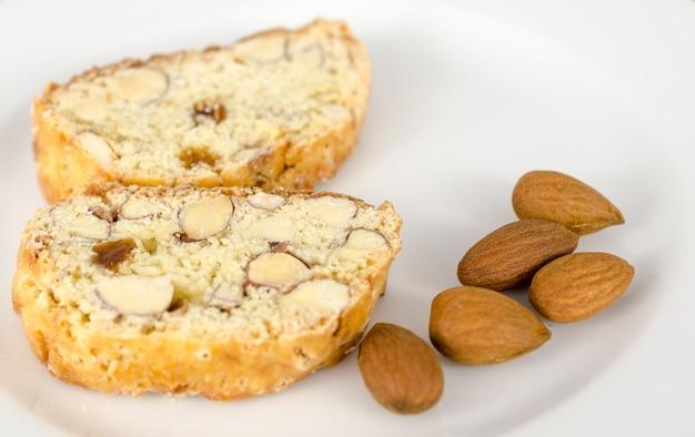 Ciasteczka biscotti z migdałami