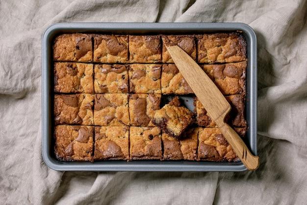 Ciasteczka brookies i ciasteczka