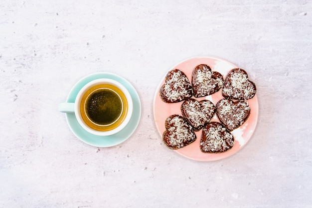 Ciasteczka i kawa