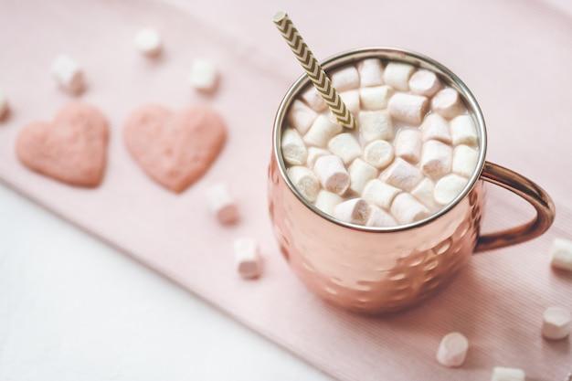 Ciasteczka kakaowe i serca