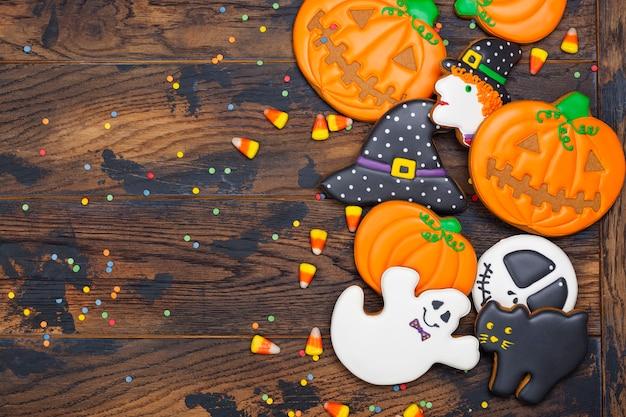 Ciasteczka na imprezę halloween