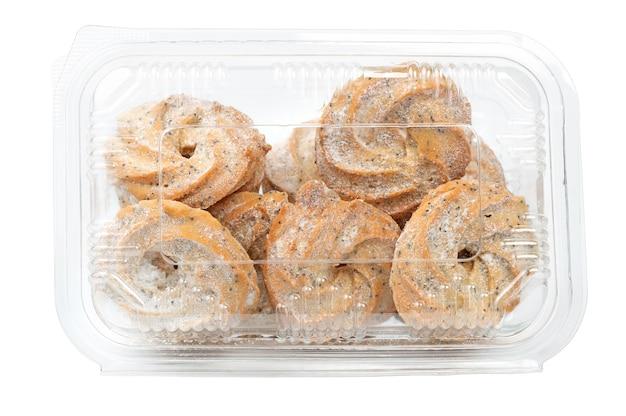Ciasteczka z nasionami w pojemniku