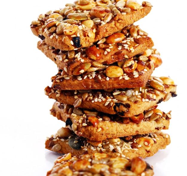 Ciasteczka z różnymi składnikami