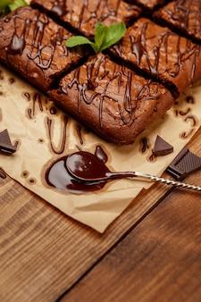 Ciasto czekoladowe na blasze do pieczenia