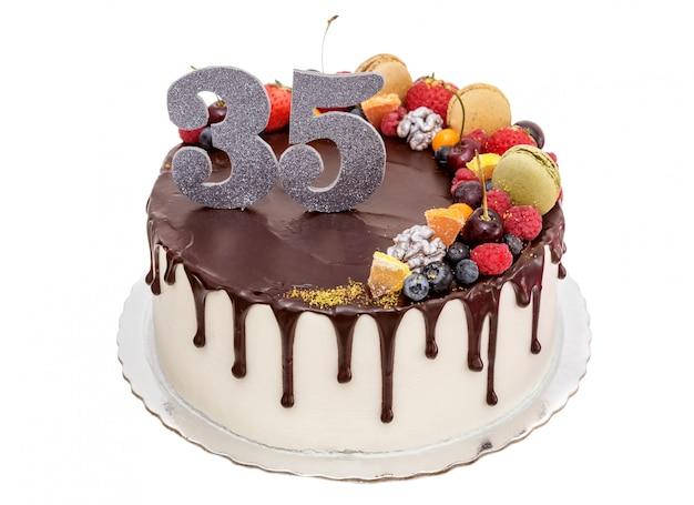 Ciasto czekoladowe na rocznicę.