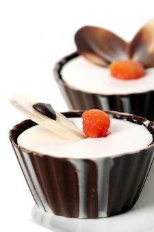 Ciasto deserowe z czekoladą