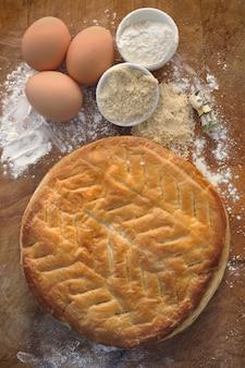 Ciasto francuskie i składnik
