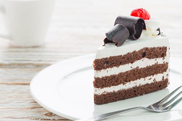 Ciasto krem smaczny słodki biały