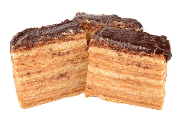 Ciasto miodowe z czekoladą