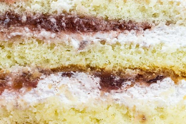Ciasto truskawkowe tekstury