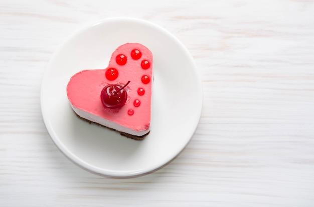 Ciasto w formie serca