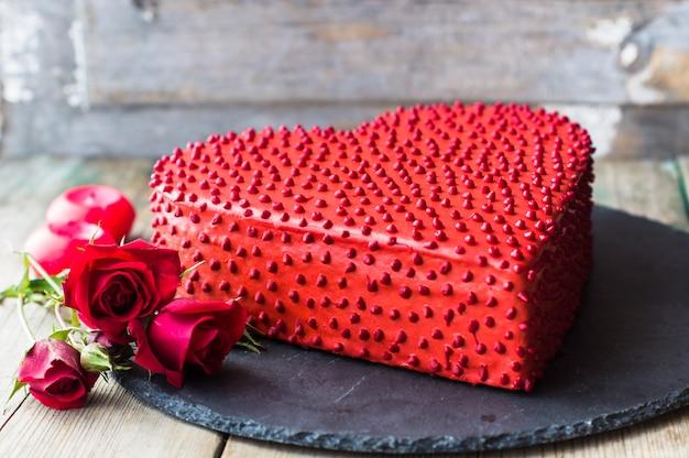 Ciasto w kształcie serca