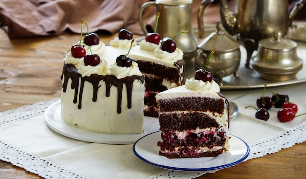 Ciasto z czarnego lasu, schwarzwalder kirschtorte