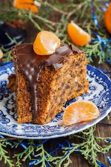 Ciasto z mandarynkami na boże narodzenie