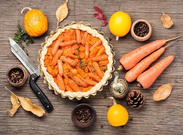 Ciasto z marchewką i dynią