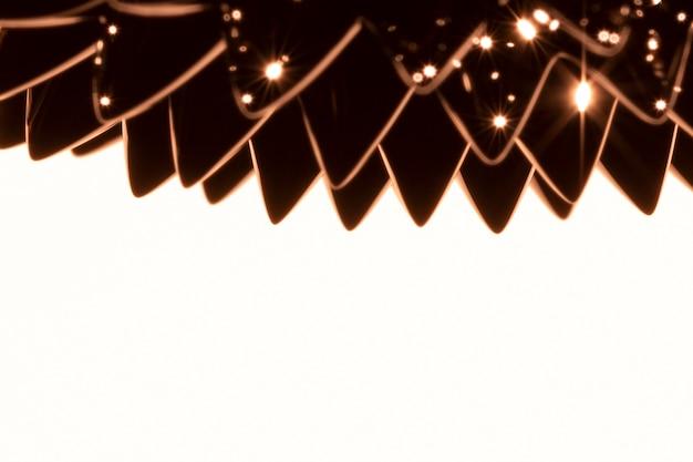 Ciekły metal ferromagnetyczny w kolorze sepii z miejscem na kopię
