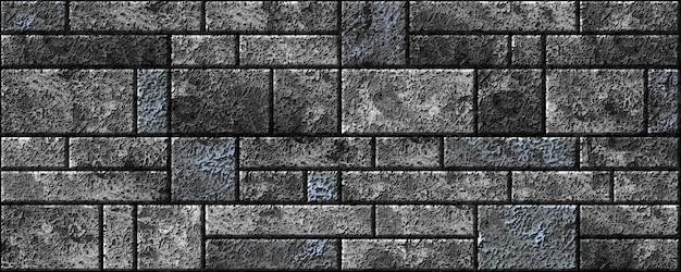 Ciemna cegła tekstura ściany. tynk dekoracyjny, element projektu. tło, baner